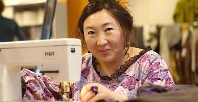 Kleding leren naaien- afbeelding